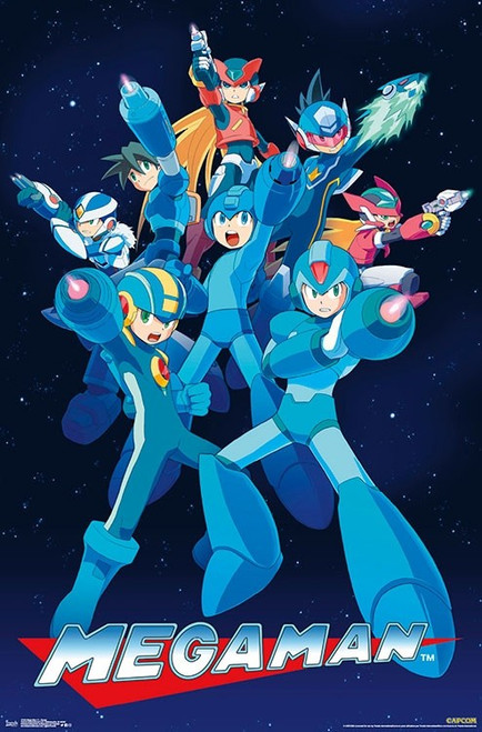 Mega Man 11 - Group Poster Print - Item # VARTIARP17248
