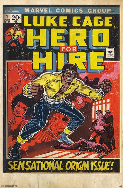 Luke Cage - Hero for Hire #1 Poster Print - Item # VARTIARP16713