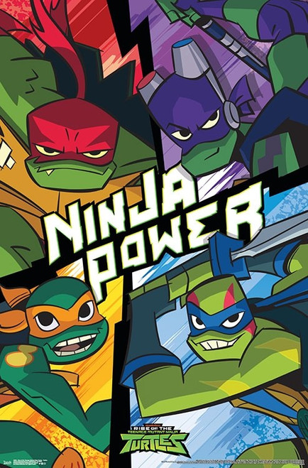 Rise of the Teenage Mutant Ninja Turtles - Turtles Poster Print - Item # VARTIARP15804