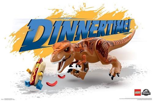 Lego Jurassic World - Dinnertime Poster Print - Item # VARTIARP17008