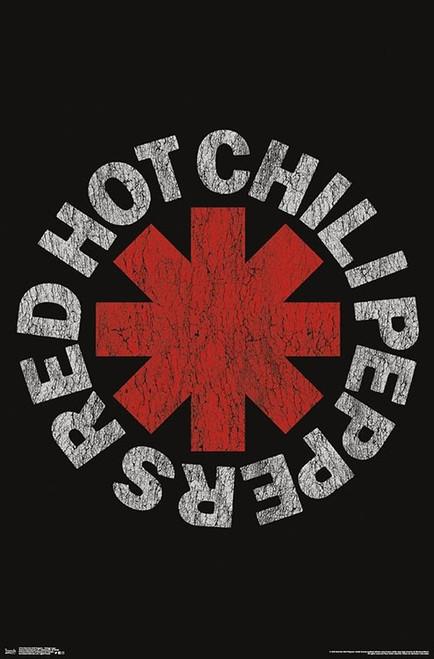 Red Hot Chili Peppers - Vintage Logo Poster Print - Item # VARTIARP17143