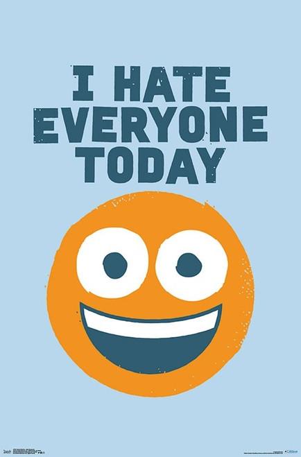 David Olenick - Hate Everyone Poster Print - Item # VARTIARP17037