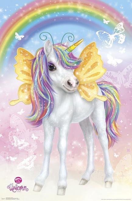 Animal Club - Unicorn Poster Print - Item # VARTIARP17129