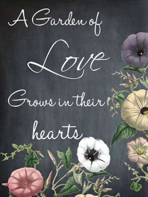 A Garden Of Love Poster Print by Sheldon Lewis - Item # VARPDXSLBRC250A