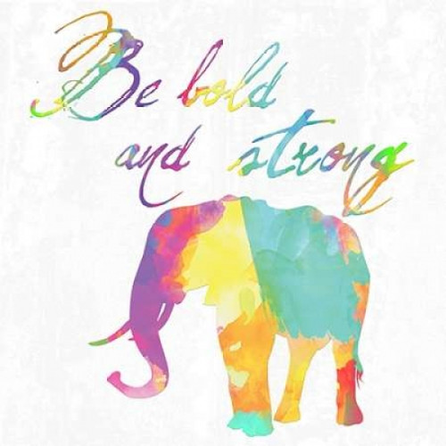 Be Bold and Strong Poster Print by Sheldon Lewis - Item # VARPDXSLBSQ208A2