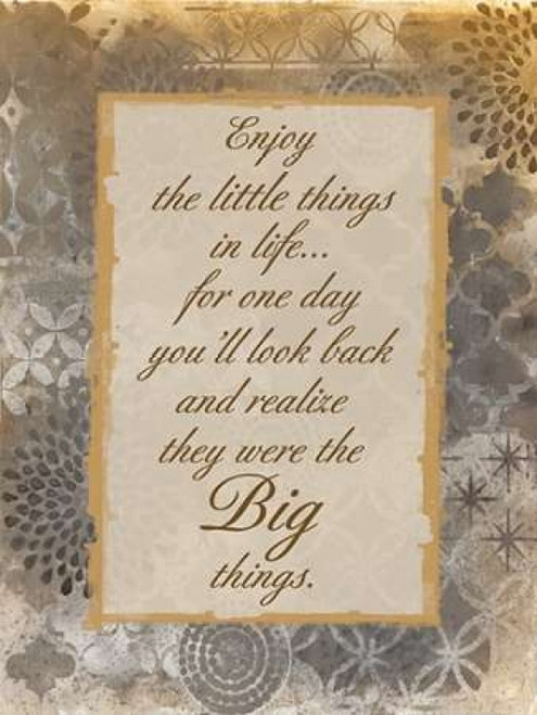 The Little Things Poster Print by Smith Haynes - Item # VARPDXSH8RC003A