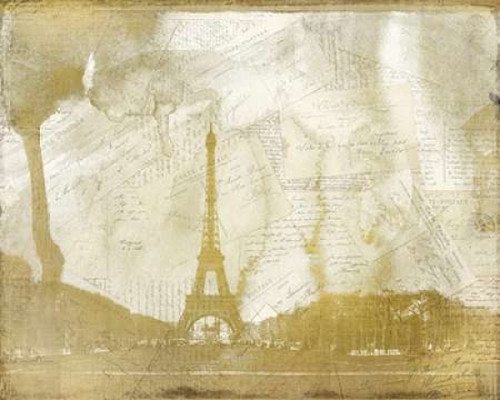 Letters from Paris Poster Print by Kimberly Allen - Item # VARPDXKARC128A