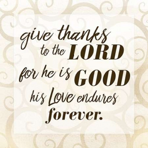 Give Thanks Poster Print by Kimberly Allen - Item # VARPDXKASQ114B