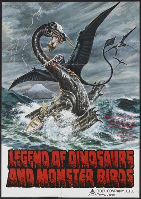 Legend of Dinosaurs and Monster Birds Movie Poster Print (27 x 40) - Item # MOVAJ7316