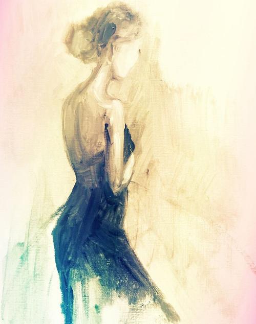 Feminine Solitude Poster Print by Boho Hue Studio - Item # VARPDXBHSRC042