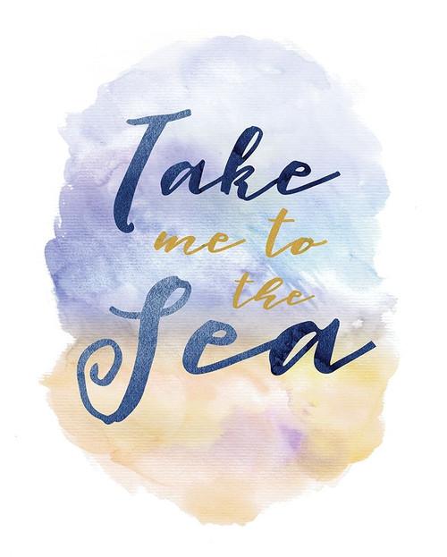 Take Me To The Sea Poster Print by Alicia Vidal - Item # VARPDXAVRC002B