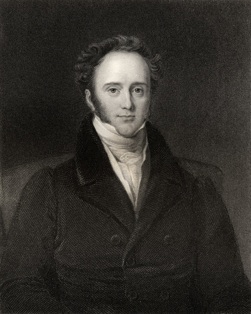 Henry John Temple 3Rd Viscount Palmerston And Baron Temple Of Mount Temple Byname Pam 1784 To 1865 English Whig-Liberal Statesman Engraved By H Cook After J Lucas From The Book National Portrait Gallery Volume Iv Published C 1835 PosterPrint - Item #