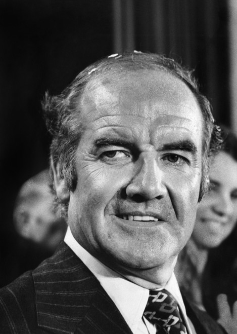 George Mcgovern (1922-2012). /Namerican Politician. Photographed During Celebrations At The Statler Hilton Hotel In Boston, 25 April 1972, Following His Victory In The Massachusetts Presidential Primary. Poster Print by Granger Collection - Item # VA