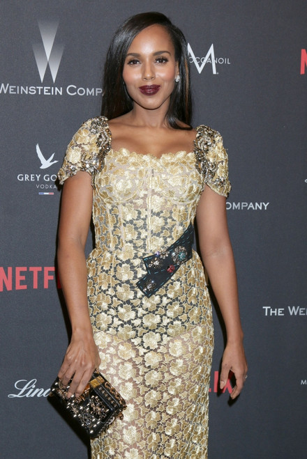 Kerry Washington At The After-Party For The Weinstein Company & Netflix 2017 Golden Globes After Party, One Beverly Hills At 9900 Wilshire Boulevard, Beverly Hills, Ca January 8, 2017. Photo By Priscilla GrantEverett Collection - Item # VAREVC1708J02