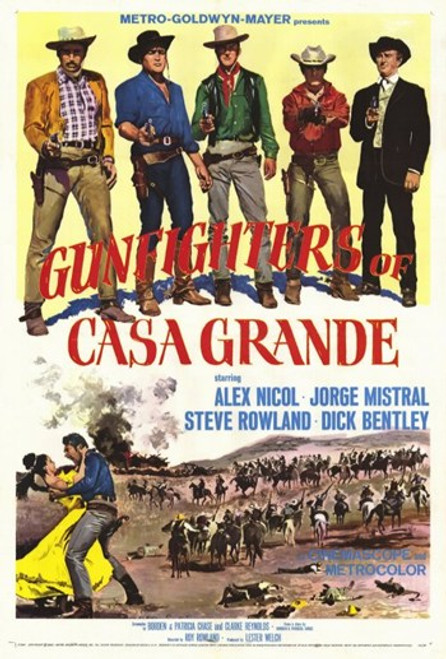 Gunfighters of Casa Grande Movie Poster (11 x 17) - Item # MOV256072