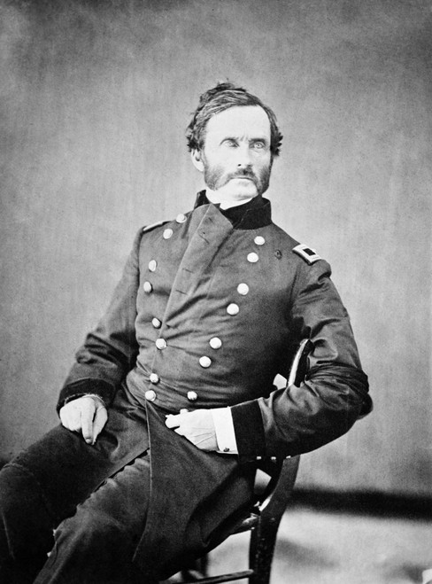 James Henry Carleton /N(1814-1873). Union Army Officer In The American Civil War. Also Known For His Roles Fighting In The Mexican-American War And Against The Native Americans In The Southwestern United States. Poster Print by Granger Collection - I
