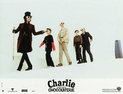 Charlie and the Chocolate Factory Movie Poster (11 x 14) - Item # MOVCF2560