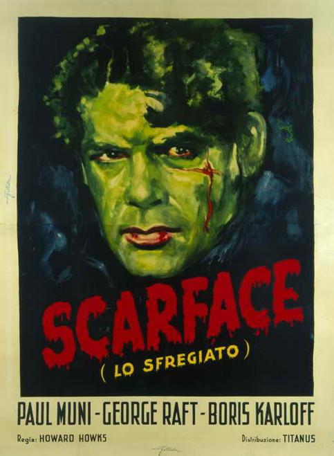Scarface Movie Poster (11 x 17) - Item # MOVEE5065