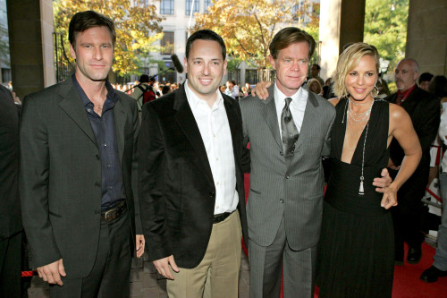 Aaron Eckhart, David Sacks, William H. Macy, Maria Bello At Arrivals For Thank You For Smoking Toronto Film Festival Premiere Ryerson Theatre Toronto On September 9, 2005. Photo By Malcolm TaylorEverett Collection Celebrity - Item # VAREVC0509SPDYL00