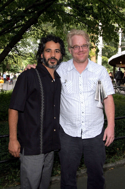 John Ortiz, Philip Seymour Hoffman At Arrivals For The Public Theater Shakespeare In The Park Opening Night, The Delacorte Theater In Central Park, New York, Ny, July 12, 2005. Photo By Fernando LeonEverett Collection Celebrity - Item # VAREVC0512JLB