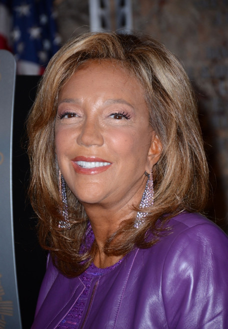 Denise Rich At The Press Conference For Empire State Building Lighting For Gabrielle'S Angel Foundation For Cancer Research, Empire State Building Lobby, New York, Ny October 19, 2015. Photo By Derek StormEverett Collection Celebrity - Item # VAREVC1