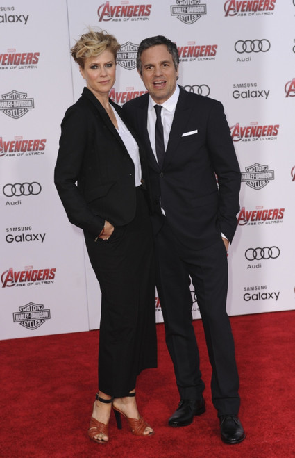 Sunrise Coigney, Mark Ruffalo At Arrivals For The Avengers Age Of Ultron Premiere, The Dolby Theatre At Hollywood And Highland Center, Los Angeles, Ca April 13, 2015. Photo By Elizabeth GoodenoughEverett Collection Celebrity - Item # VAREVC1513A02UH0