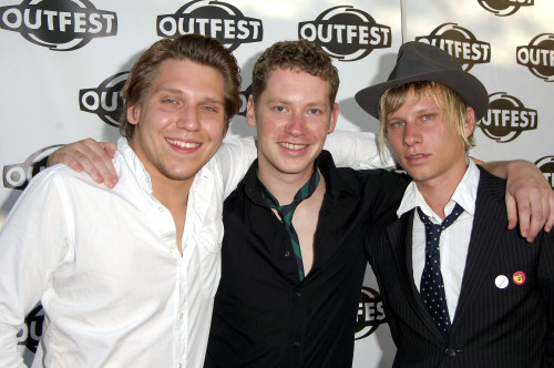 Robert Stadlober, Marco Kreuzpaintner, Hanno Koffler At Arrivals For Outfest 2005 23Rd Los Angeles Gay & Lesbian Film Festival, John Anson Ford Amphitheatre, Los Angeles, Ca, July 17, 2005. Photo By Michael GermanaEverett Collection - Item # VAREVC05