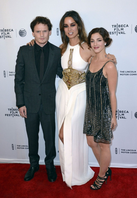 Anton Yelchin, Berenice Marlohe, Olivia Thirlby At Arrivals For 5 To 7 Premiere At 2014 Tribeca Film Festival, The School Of Visual Arts Theatre, New York, Ny April 19, 2014. Photo By Derek StormEverett Collection Celebrity ( x - Item # VAREVC1419A01