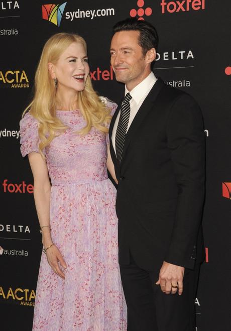 Nicole Kidman, Hugh Jackman At Arrivals For The Australian Academy Of Cinema And Television Arts 7Th Aacta International Awards, Avalon Hollywood, Los Angeles, Ca January 5, 2018. Photo By Elizabeth GoodenoughEverett Collection - Item # VAREVC1805J03