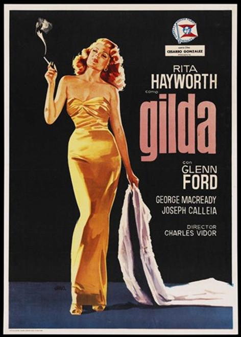 Gilda Movie Poster (11 x 17) - Item # MOV414173