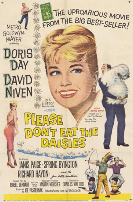 Please Don't Eat the Daisies Movie Poster (11 x 17) - Item # MOV197027