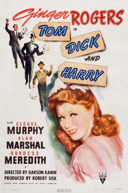 Tom, Dick, and Harry Movie Poster (11 x 17) - Item # MOVCB82784