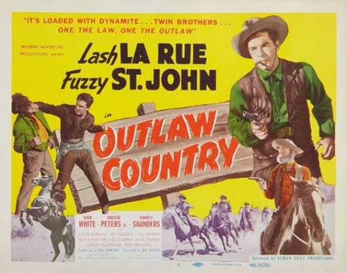 Outlaw Country Movie Poster Print (27 x 40) - Item # MOVGB13324