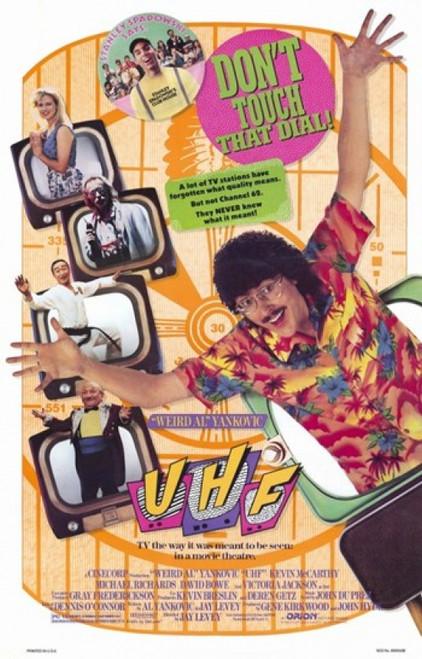 Uhf Movie Poster (11 x 17) - Item # MOV199705