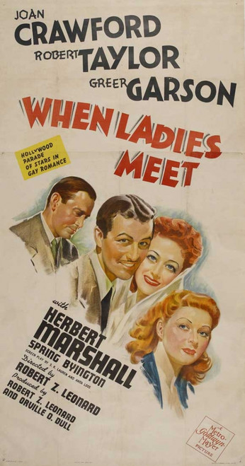 When Ladies Meet Movie Poster Print (27 x 40) - Item # MOVCJ1160