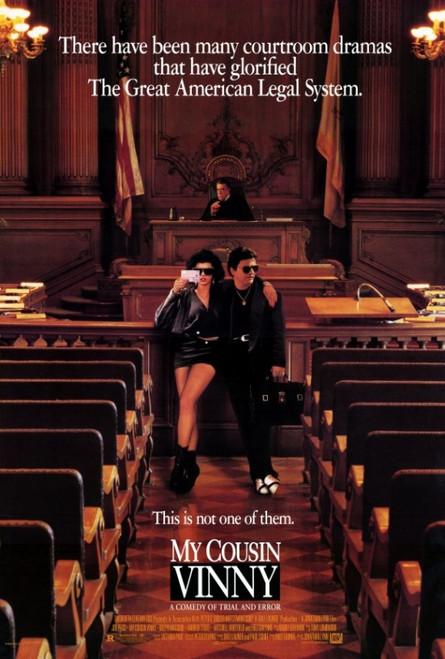 My Cousin Vinny Movie Poster Print (27 x 40) - Item # MOVCF2327