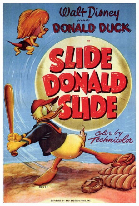 Slide Donald Slide Movie Poster Print (27 x 40) - Item # MOVIF9341