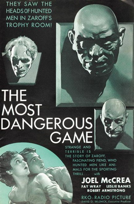 The Most Dangerous Game Movie Poster (11 x 17) - Item # MOV415058
