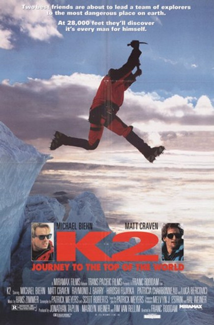 K2 The Ultimate High Movie Poster (11 x 17) - Item # MOV258142