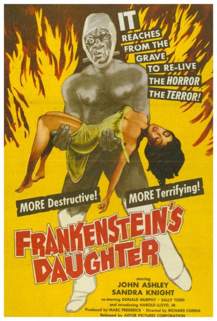 Frankenstein's Daughter Movie Poster Print (27 x 40) - Item # MOVCH4744
