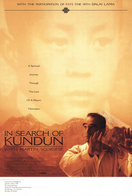 In Search Of Kundun with Martin Scorsese Movie Poster Print (27 x 40) - Item # MOVCI7954