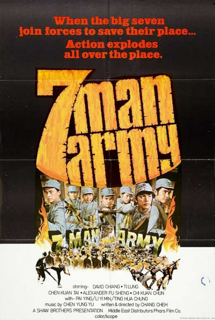Seven Man Army Movie Poster Print (27 x 40) - Item # MOVCB23580