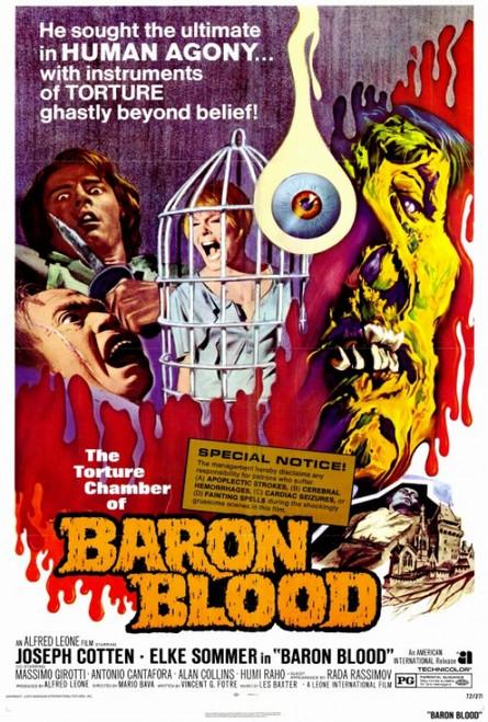 Baron Blood Movie Poster Print (27 x 40) - Item # MOVGF2372