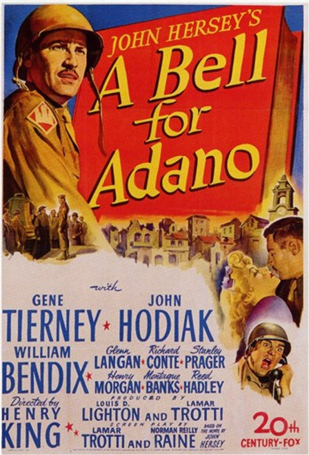 A Bell for Adano Movie Poster (11 x 17) - Item # MOV198780