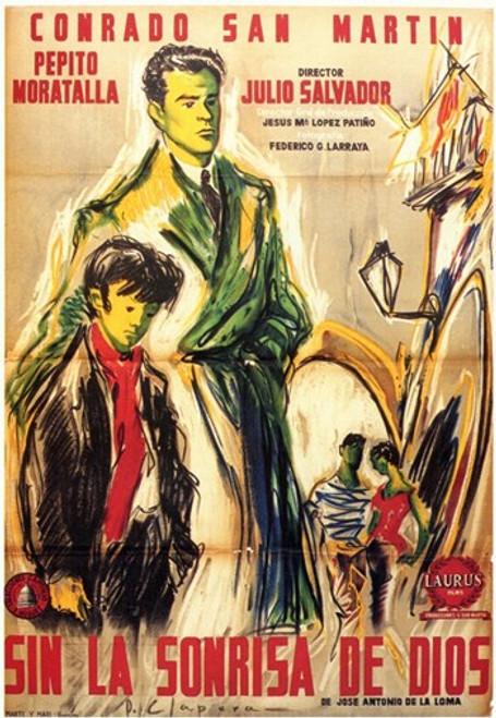 Sin La Sonrisa De Dios Movie Poster (11 x 17) - Item # MOV207617