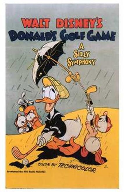 Donald's Golf Game Movie Poster (11 x 17) - Item # MOV196919