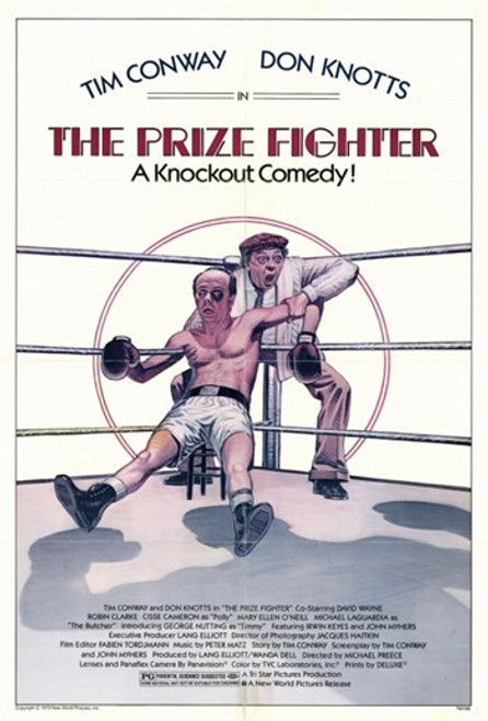 The Prize Fighter Movie Poster (11 x 17) - Item # MOV248608