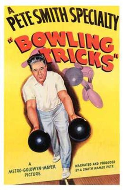 Bowling Tricks Movie Poster (11 x 17) - Item # MOV196887