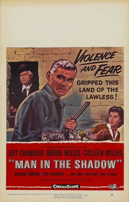 Man in the Shadow Movie Poster Print (27 x 40) - Item # MOVAB08121