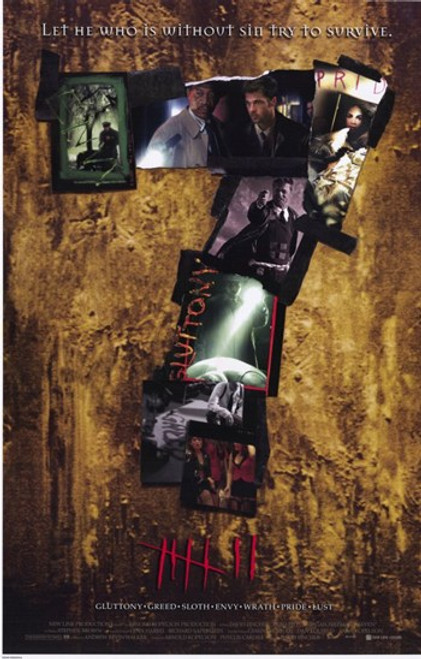 Seven Movie Poster (11 x 17) - Item # MOV214269